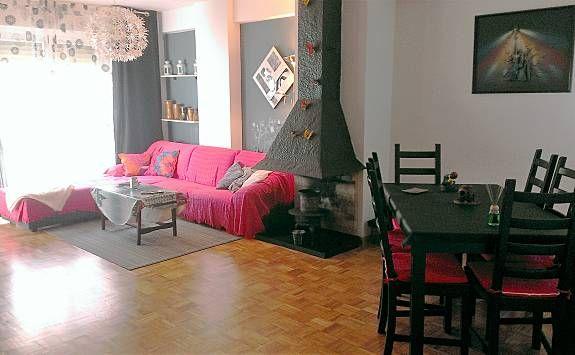 Apartamento acogedor en Jaca para 10 personas