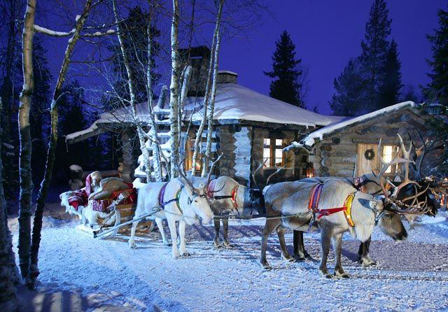 Navidad en Finlandia.