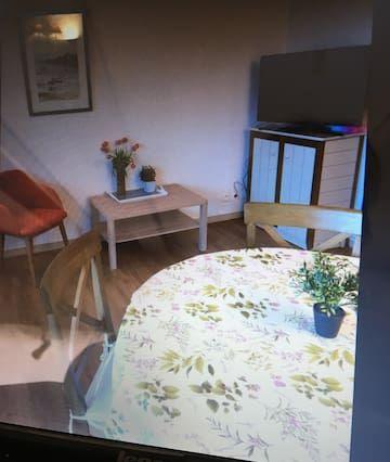 Mit Ausblick Apartment mit 1 Zimmer