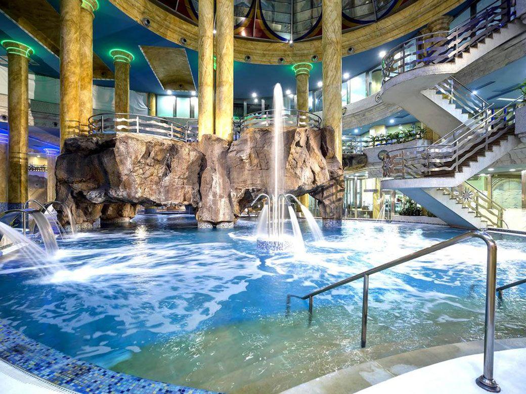 El famoso balneario de Marina d'Or