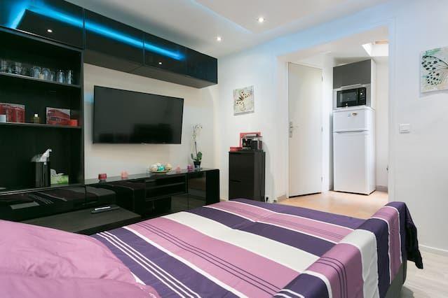 Hébergement avec 2 chambres