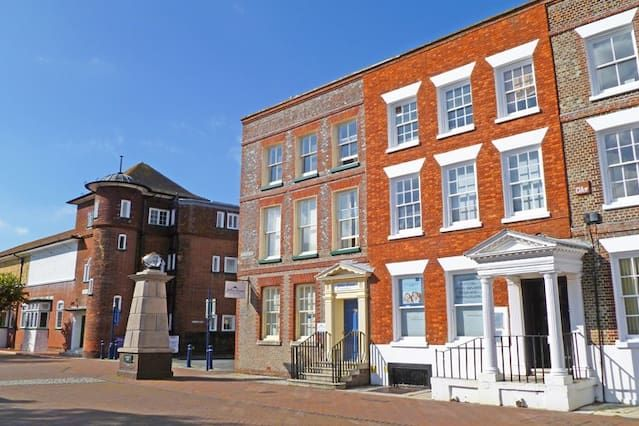 Flat with parking included in Gosport