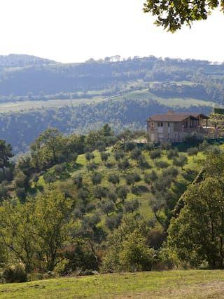Vivienda con balcón en Gualdo cattaneo, perugia
