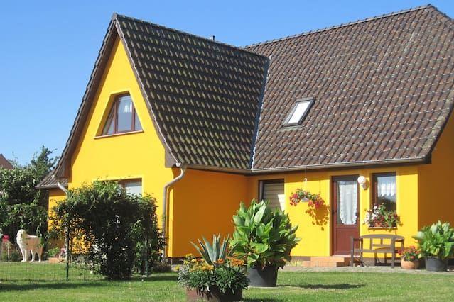 Apartment mit Garten in Bastorf