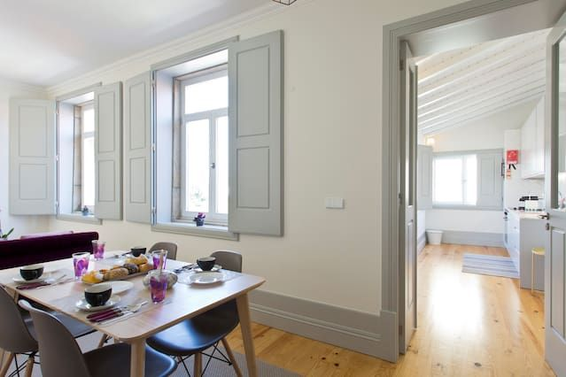 Apartamento con wi-fi en Porto