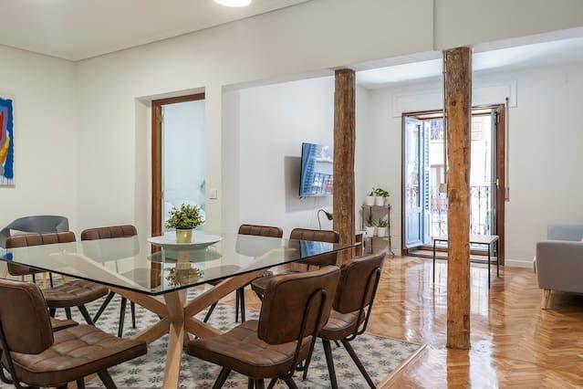 Hébergement à Madrid à 1 chambre
