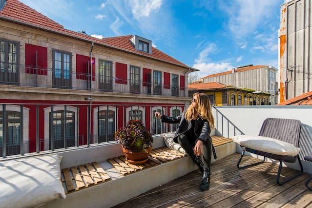 Familial hébergement à Porto