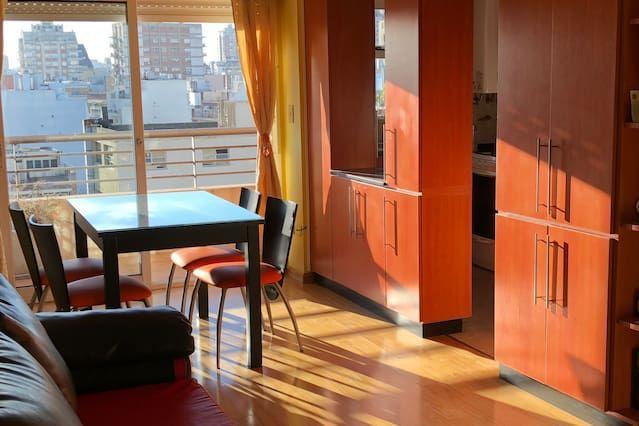 Piso en Buenos aires con balcón