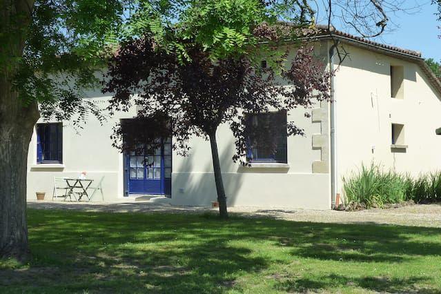 Alojamiento en Virazeil con parking incluído