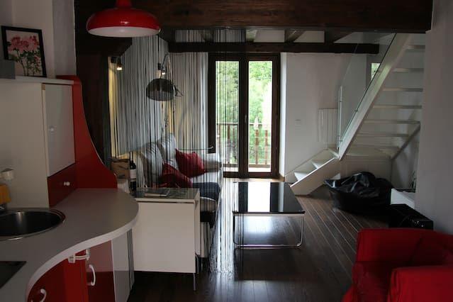 Apartamento con balcón para 4 personas