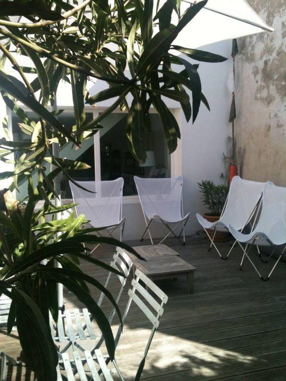 Casa con jardín para 10 personas