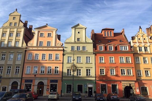 Vivienda para 4 personas en Wroclaw