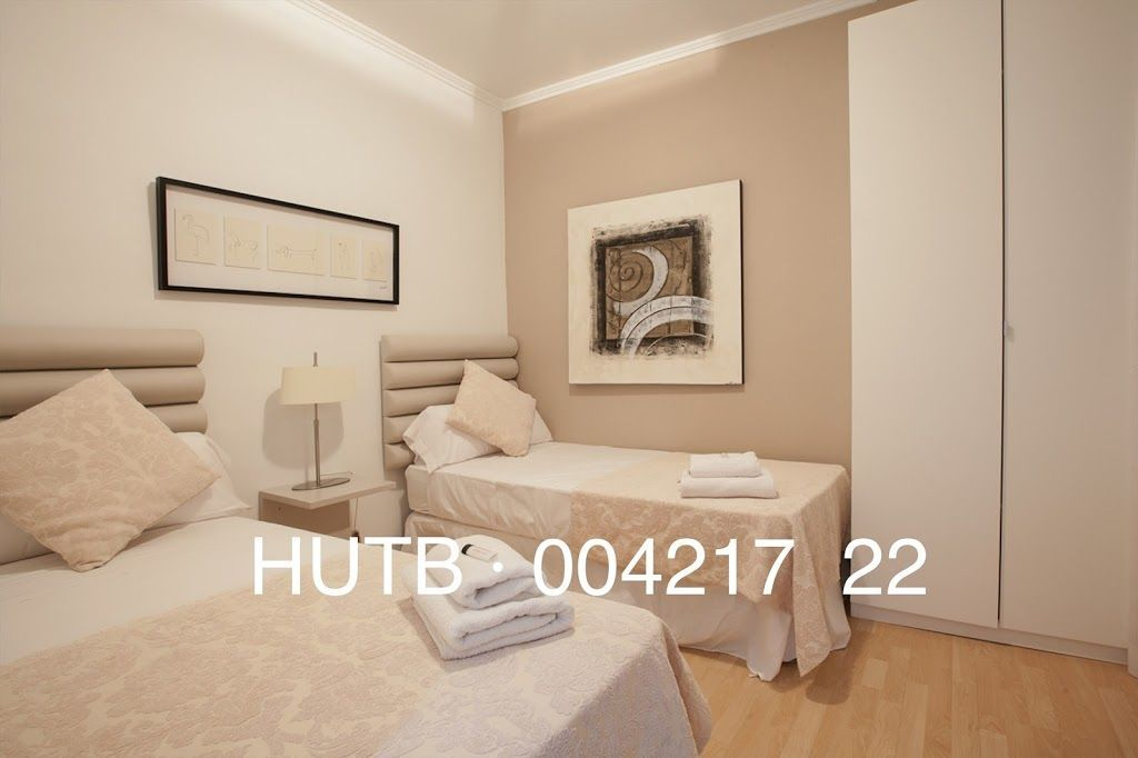 Ideal tourist apartment in Barcelona of 3 bedrooms