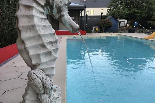 Appartement N°12 centre ville piscine sauna pour 2
