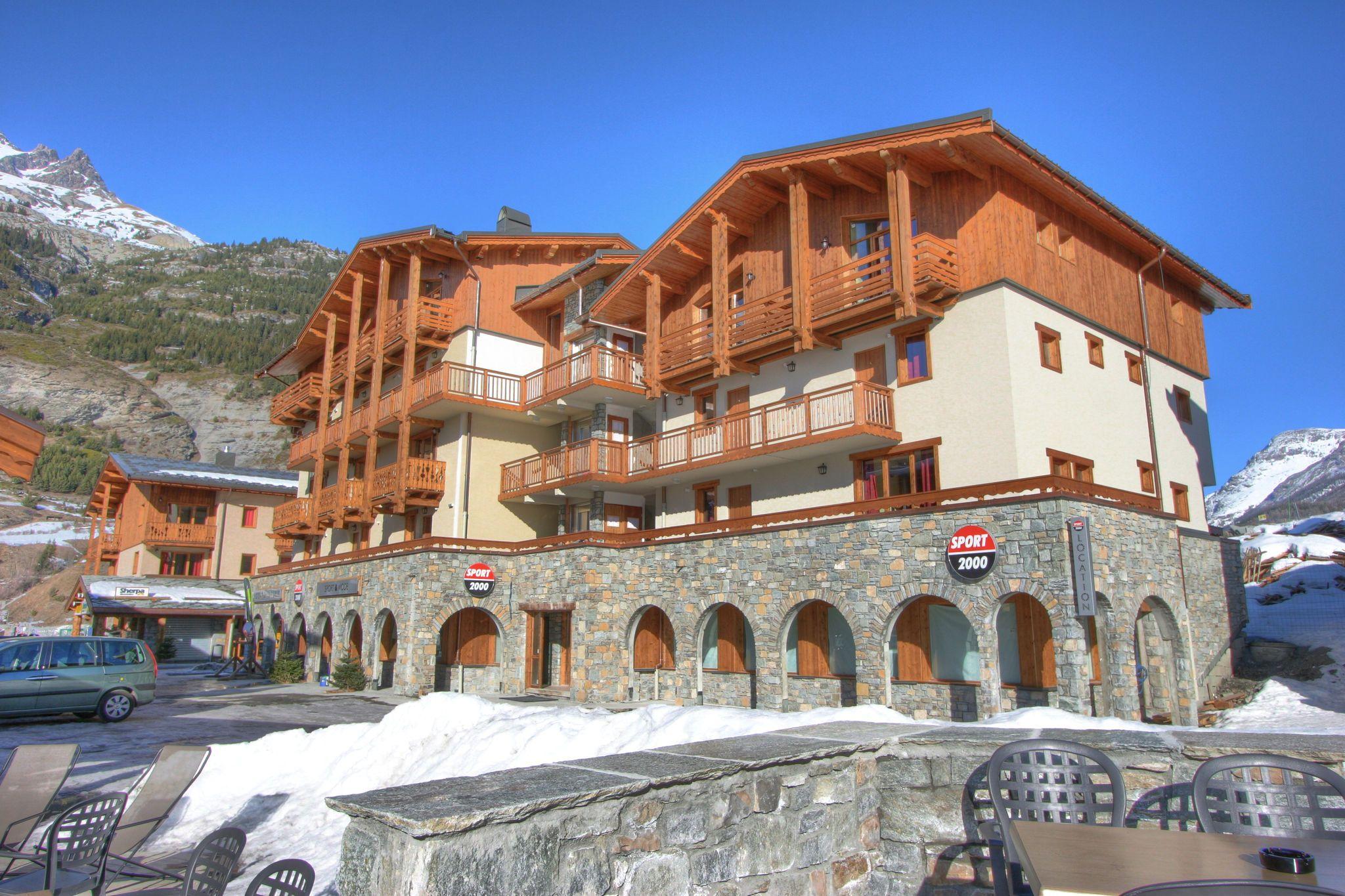 Alojamiento panorámico en Val cenis