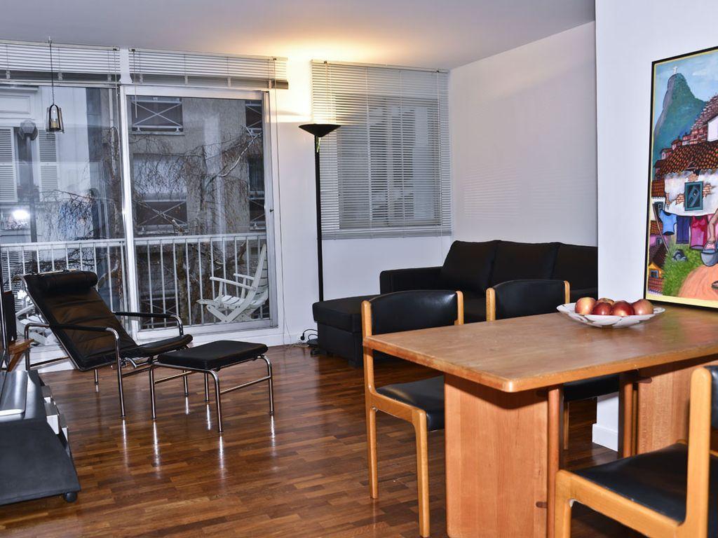 Apartamento agradable en parís con lavadora y adaptado