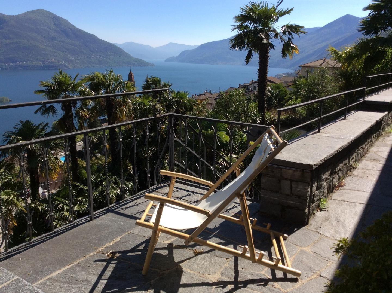 Villa independiente con vistas panorámicas al lago Maggiore