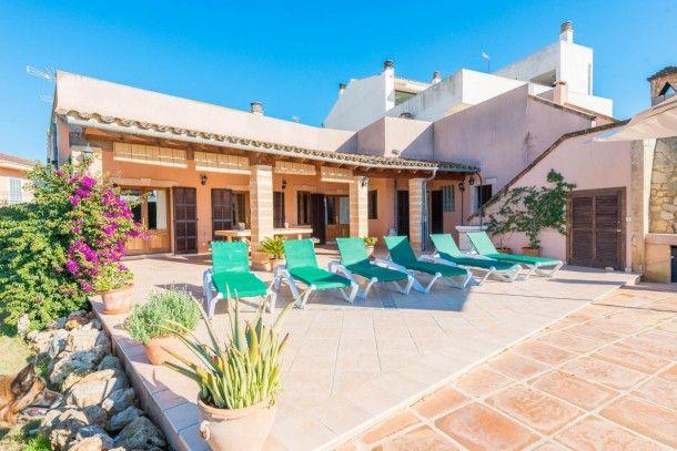 Villa en Manacor con Terraza, Aparcamiento, Jardín, Lavadora (326474)