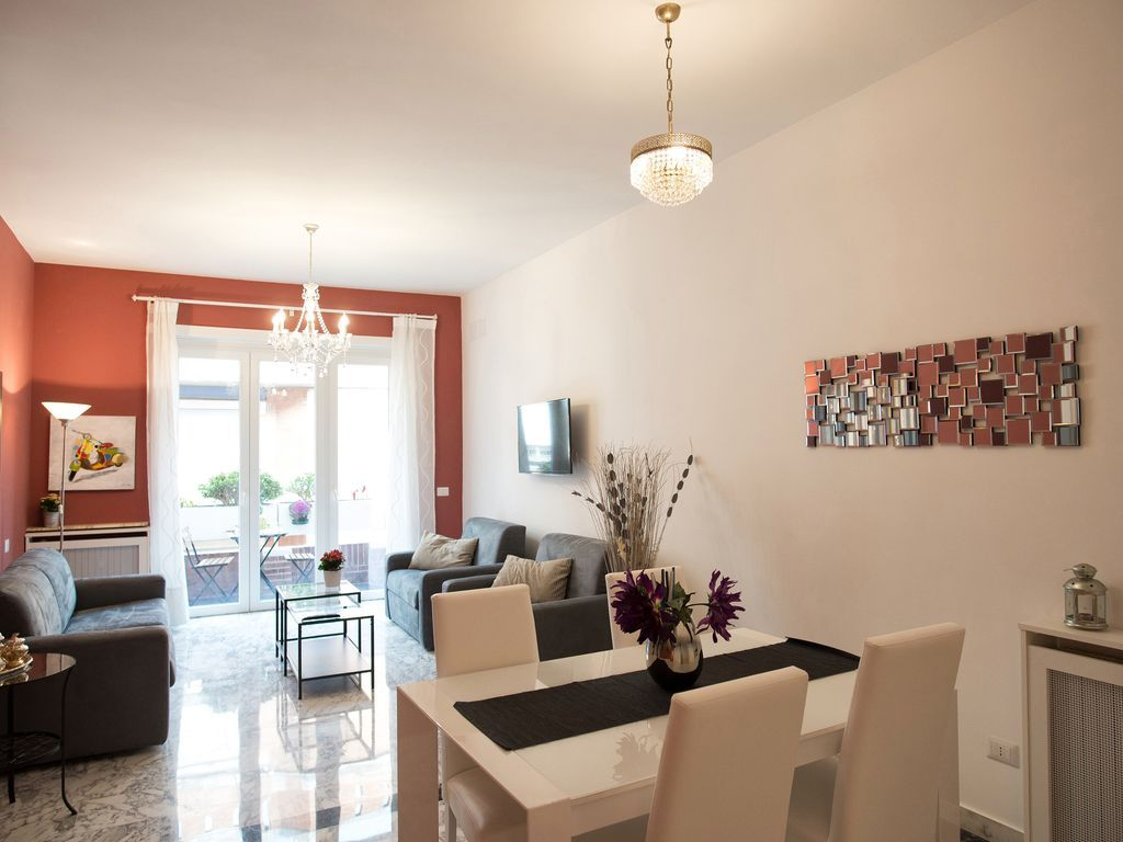 Apartamento atractivo con Internet y Sábanas y toallas en Roma