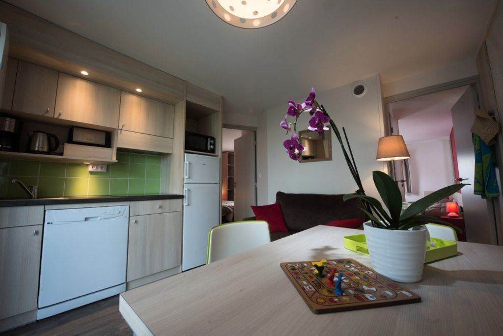 Ferienwohnung auf 48 m² mit 3 Zimmern