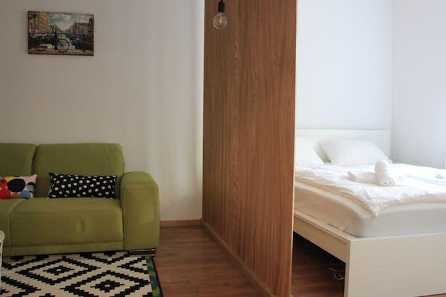 Atractivo alojamiento de 1 habitación