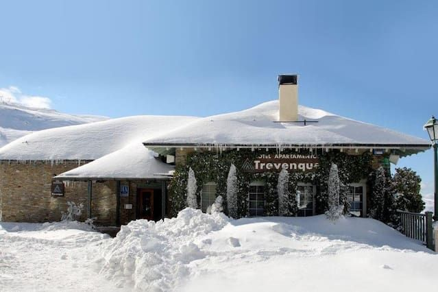 Piso en sierra nevada para 4 huéspedes