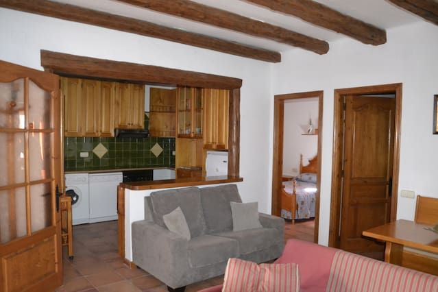 Apartamento rústico 4-7 personas en Alta Ribagorça