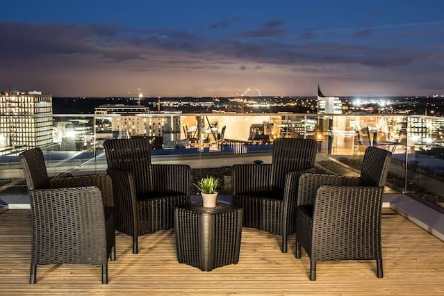 With everything you need holiday rental with balcony