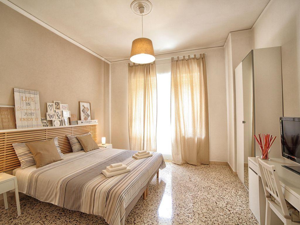 Apartamento dotado de 4 habitaciones
