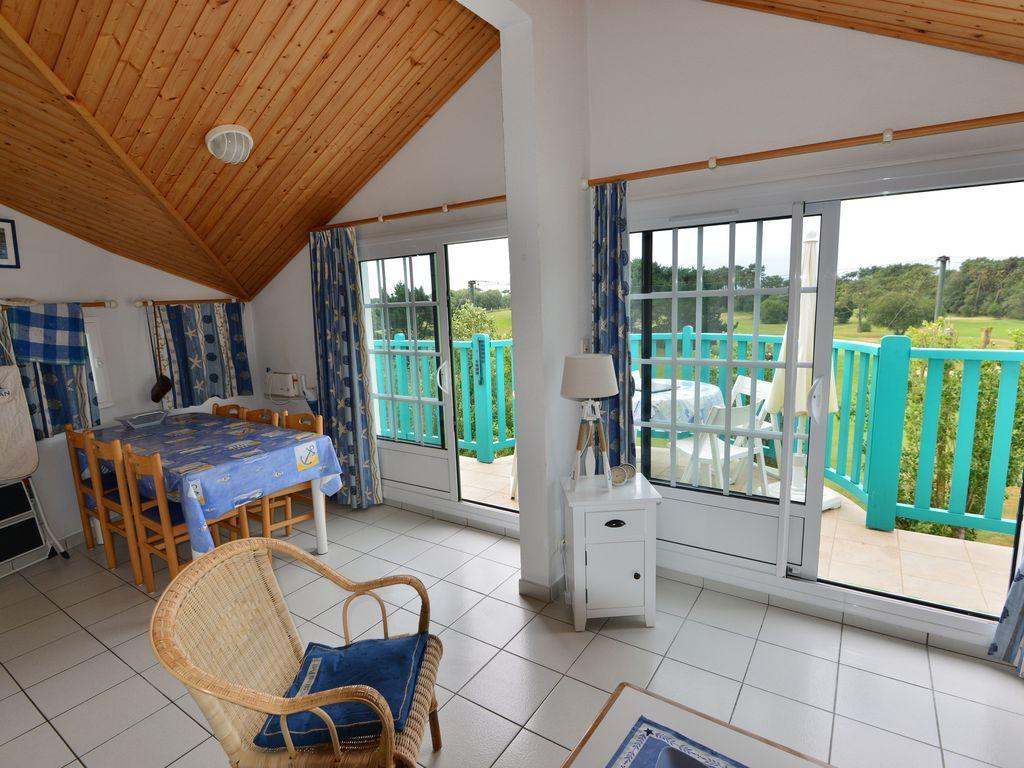 Apartamento de 48 m² con jardín