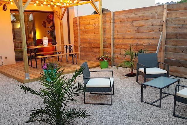Logement avec jardin de 50 m²
