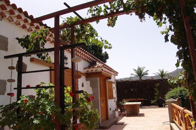 Casa con jardín de 7 m²