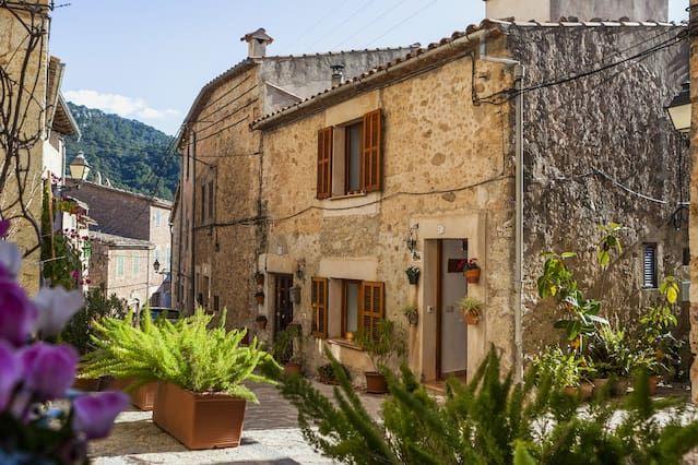 Alojamiento en Valldemossa con jardín