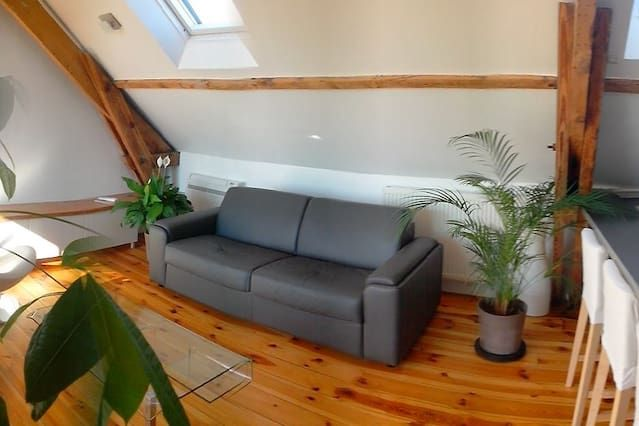 Hébergement de 2 chambres avec wi-fi