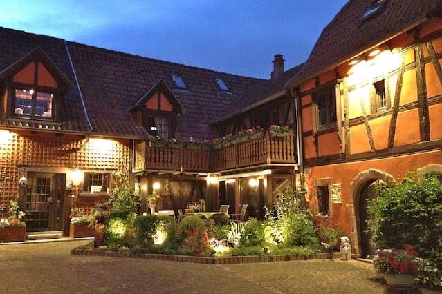 Alojamiento familiar en Obernai