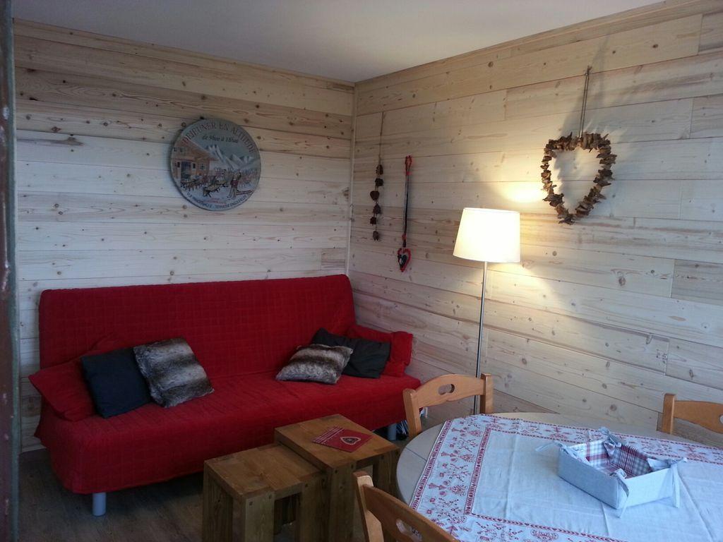 Maravilloso alojamiento en Mâcot-la-plagne