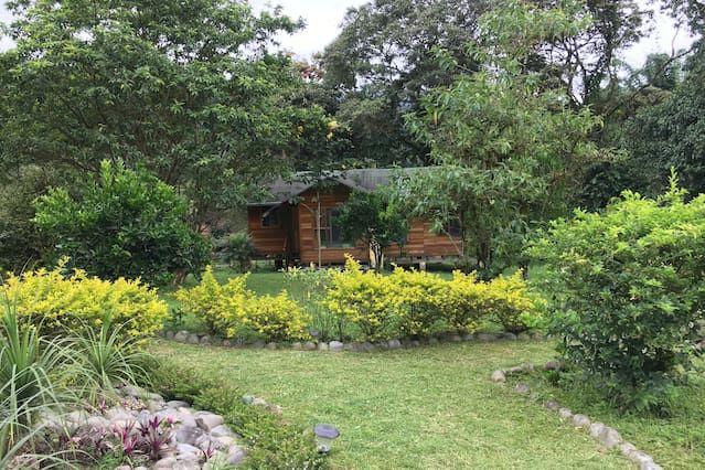 Genial residencia con jardín