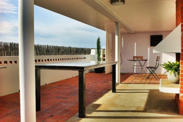 Alojamiento de 1 habitación en Valras-plage