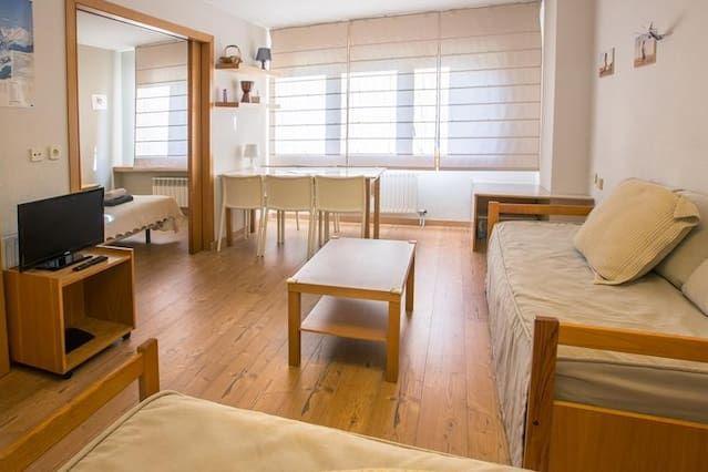 Appartement à Baqueira 1500 pour 6 personnes - Un appartement d'une chambre à coucher, pour 6 personnes