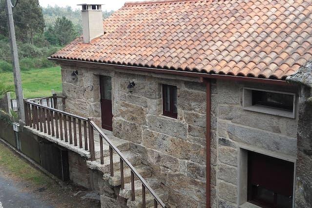 Casa en Oroso con balcón