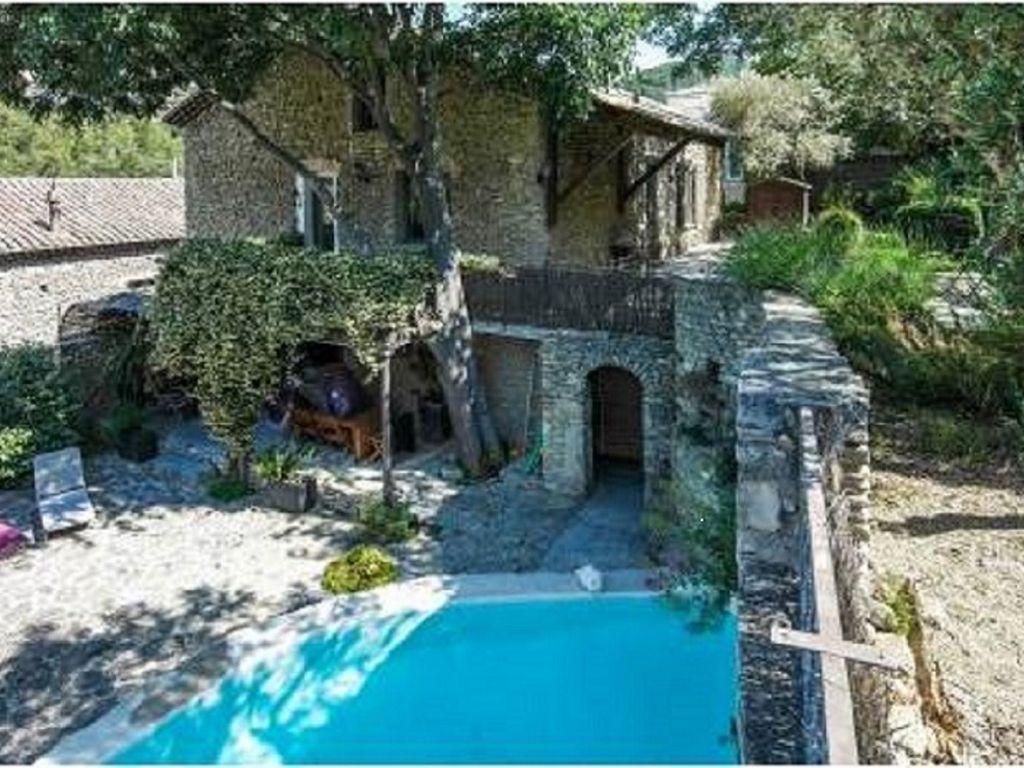 Casa en Fontaine de vaucluse con piscina