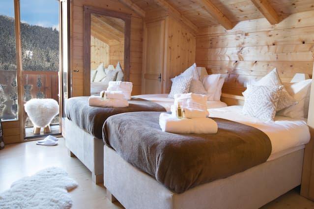 Alojamiento en Morzine de 6 habitaciones