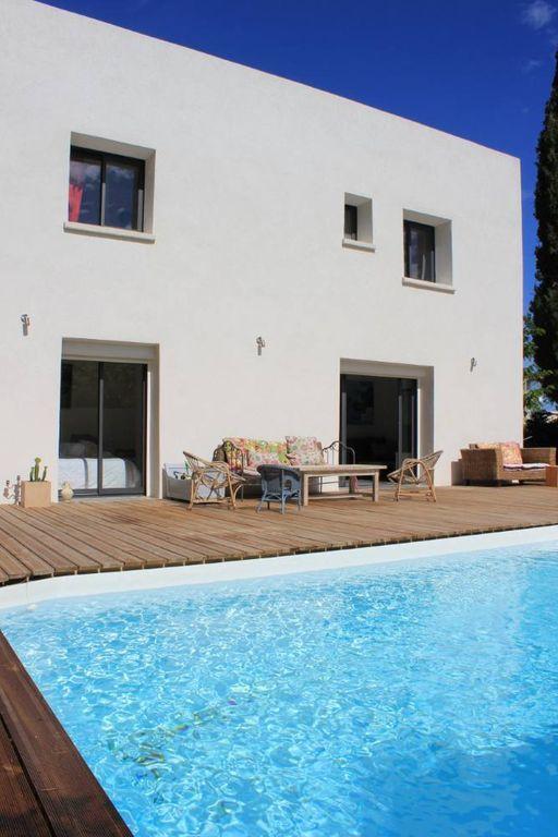 Residencia con jardín de 110 m²