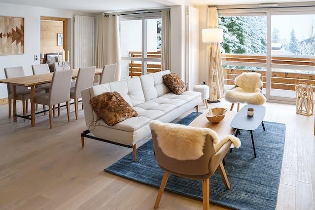 Panorámico apartamento en Megève