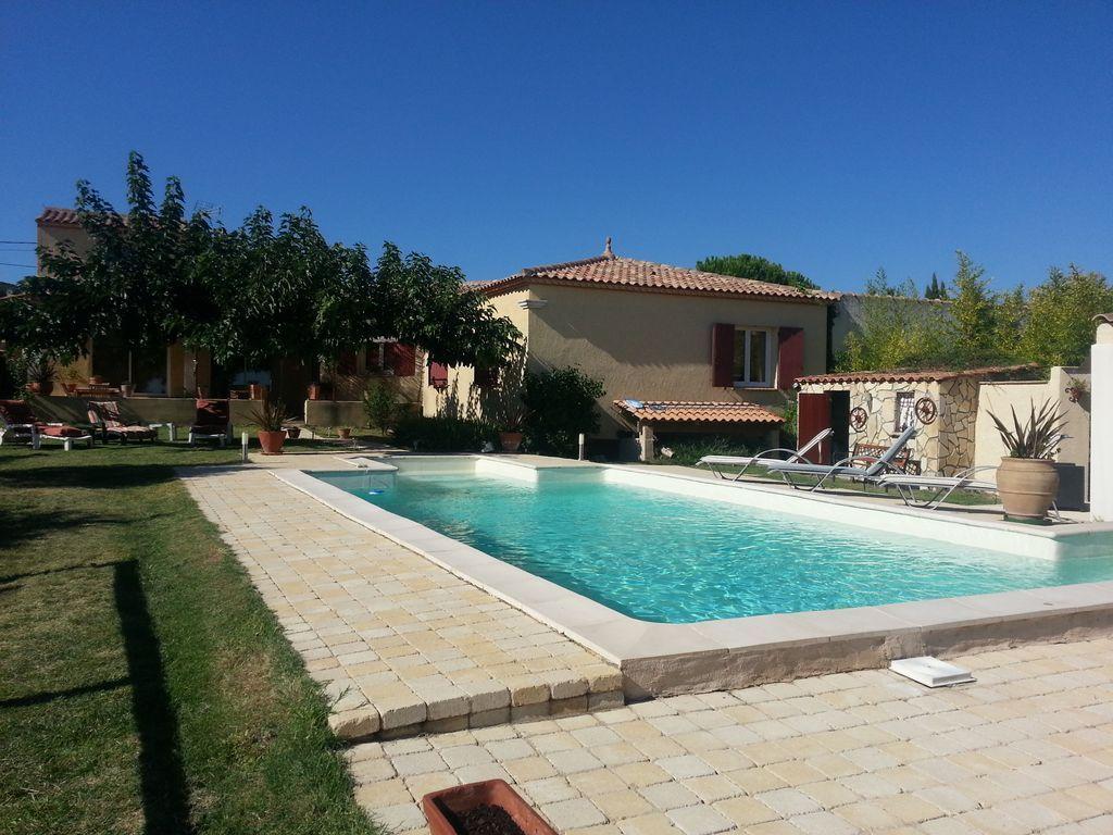 Residencia para 8 huéspedes en Gard