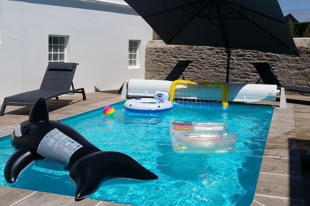 Residencia de 150 m² con piscina