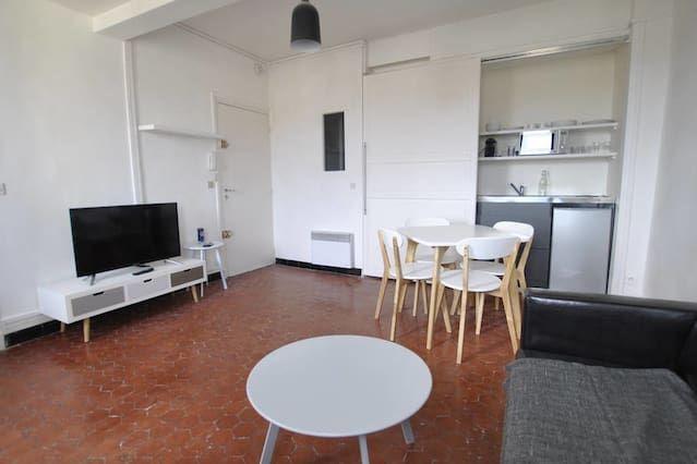 Équipé hébergement de 40 m²