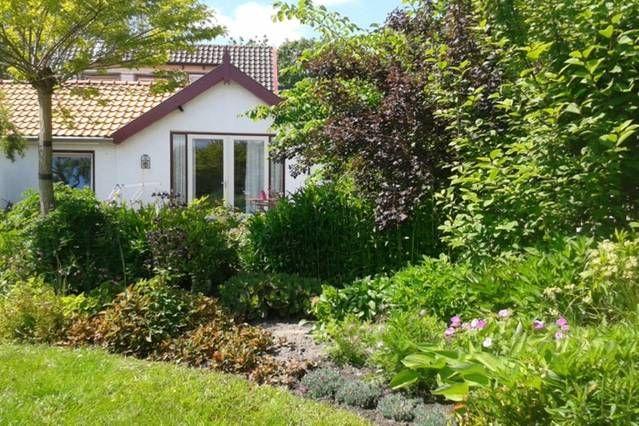 Chalet für 2 Gäste mit Garten