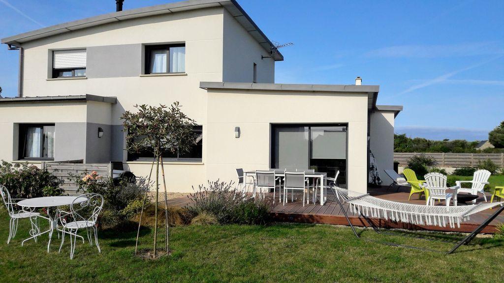 Residencia de 4 habitaciones en Santec