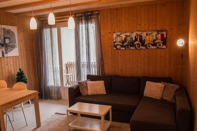 Appartement avec 1 chambre à Le lioran